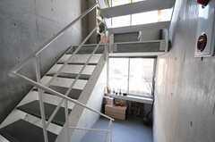階段の様子。(2013-09-12,共用部,OTHER,4F)