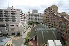 窓からの景色。(502号室)(2008-08-31,専有部,ROOM,6F)