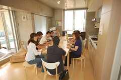 オープンハウスの様子2。(2008-07-19,共用部,PARTY,4F)