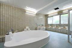 大浴場の様子。(2018-05-09,共用部,BATH,1F)