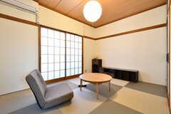 専有部の様子。モデルルームです。(C202号室)(2018-01-15,専有部,ROOM,2F)