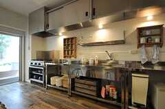 キッチンの様子2。業務用キッチンです。(2013-05-27,共用部,KITCHEN,1F)