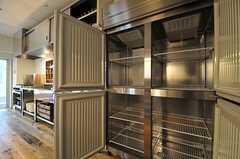 冷蔵庫の様子。(2013-05-27,共用部,KITCHEN,1F)