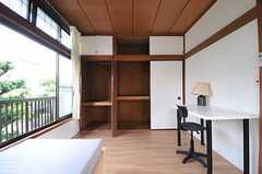 収納の様子。(201号室)(2011-04-28,専有部,ROOM,2F)