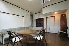 シェアハウスのリビングの様子3。(2011-04-28,共用部,LIVINGROOM,2F)