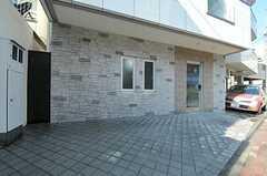 自転車置場の様子。(2013-01-25,共用部,GARAGE,1F)
