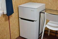 冷蔵庫は各部屋に設置されています。(102号室)(2017-05-31,専有部,ROOM,1F)