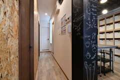 廊下の様子。(2019-01-29,共用部,OTHER,2F)