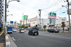 駅の近くにはスーパーやホームセンターがあります。(2019-07-19,共用部,ENVIRONMENT,1F)