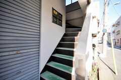 階段の様子。(2009-12-22,共用部,OTHER,2F)