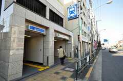 都営新宿線住吉駅の様子。(2009-12-22,共用部,ENVIRONMENT,1F)