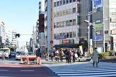 東京メトロ東西線・木場駅周辺の様子。(2016-12-15,共用部,ENVIRONMENT,1F)