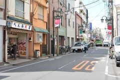 近くの商店街の様子。(2020-02-27,共用部,ENVIRONMENT,1F)