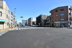 駅からシェアハウスへ向かう途中の交差点。(2020-02-27,共用部,ENVIRONMENT,1F)