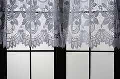 格子窓の様子。(202号室)(2013-03-07,専有部,ROOM,2F)