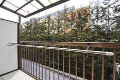 ベランダから見た景色。(205号室)(2013-03-07,専有部,ROOM,2F)