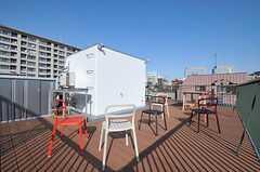 屋上の様子。(2012-03-29,共用部,OTHER,4F)