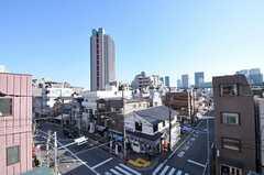 屋上から見える景色。(2012-03-29,共用部,OTHER,4F)