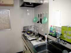 シェアハウスのキッチンの様子2。(2007-07-07,共用部,KITCHEN,1F)