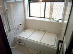 シャワールームの様子。浴槽は利用不可になる予定。(2007-07-07,共用部,BATH,1F)