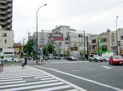 都営新宿線大島駅の様子。(2007-07-07,共用部,ENVIRONMENT,1F)
