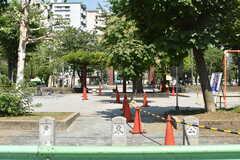 亀戸東公園の様子。(2017-07-07,共用部,ENVIRONMENT,1F)