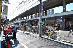 各線・亀戸駅の様子。(2017-07-07,共用部,ENVIRONMENT,1F)
