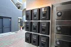 カメラ付きインターホンは部屋毎に設置されています。(2010-11-30,共用部,OTHER,1F)