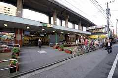各線・亀戸駅の様子。(2010-11-30,共用部,ENVIRONMENT,1F)