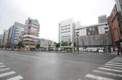 各線・亀戸駅前の様子。(2013-06-11,共用部,ENVIRONMENT,1F)