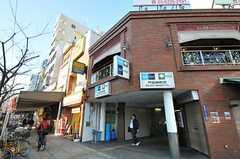 各線・門前仲町駅の様子。(2012-01-09,共用部,ENVIRONMENT,1F)