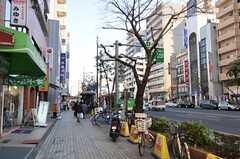 各線・門前仲町駅前の様子。(2012-01-09,共用部,ENVIRONMENT,1F)