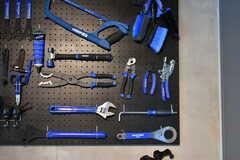 約50種類と豊富に用意されたツールは、自由に使うことができます。(2019-03-26,共用部,OTHER,1F)