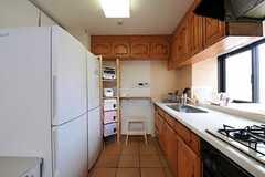 キッチンの様子2。(2012-08-01,共用部,KITCHEN,5F)