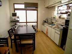 ラウンジの様子。(2005-08-03,共用部,LIVINGROOM,1F)