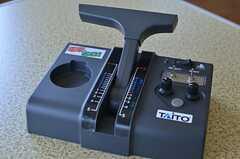 電車でGo!のハンドルを改造した、Nゲージ用のハンドル。(2013-03-15,共用部,LIVINGROOM,3F)