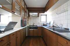 キッチンの様子2。(2013-03-15,共用部,KITCHEN,3F)
