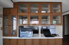 食器棚…ではなく、模型棚になる予定。(2013-03-15,共用部,KITCHEN,3F)