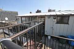 ペントハウスはオーナーさんの所有ですが、基本的に自由に出入りができるのだそう。(2013-03-15,共用部,OTHER,5F)