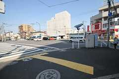 東京メトロ東西線・東陽町駅からシェアハウスへ向かう道の様子。(2013-03-15,共用部,ENVIRONMENT,1F)
