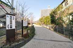 南砂線路公園。日本貨物鉄道の線路跡地なのだそう。(2013-03-15,共用部,ENVIRONMENT,1F)