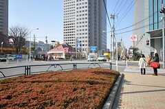 東京メトロ東西線・東陽町駅前の様子。飲食店が充実しています。(2013-03-15,共用部,ENVIRONMENT,1F)