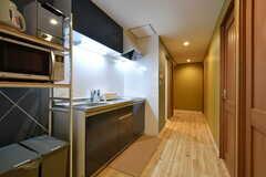 廊下の様子。間取りは2階と同じです。(2020-08-05,共用部,OTHER,3F)