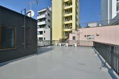 屋上の様子。(2020-08-05,共用部,OTHER,4F)