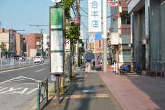 シェアハウス近くの通りの様子。(2020-08-05,共用部,ENVIRONMENT,1F)