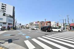 住吉駅前の交差点の様子。(2020-08-05,共用部,ENVIRONMENT,1F)