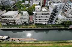 窓からの景色。(1103号室)(2009-08-19,専有部,ROOM,11F)