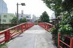 近所の橋。(2009-08-19,共用部,ENVIRONMENT,1F)