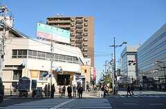 東京メトロ東西線、東陽町駅の様子。(2012-02-09,共用部,ENVIRONMENT,3F)