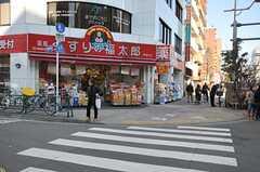 シェアハウスから東京メトロ東西線、東陽町駅へ向かう道の様子。(2012-02-09,共用部,ENVIRONMENT,3F)